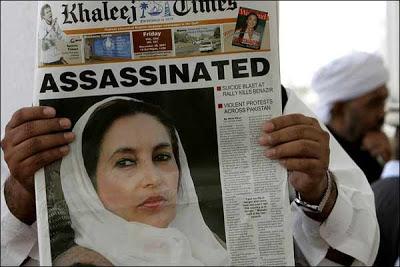 bhutto assassinated